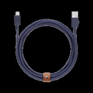 Native Union 3m Belt Cable - marineblå