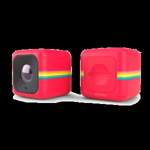 Polaroid Cube+ WiFi Actionkamera rød