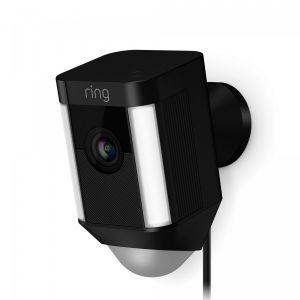 Ring Spotlight Cam Wired - svart
