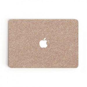 Marblessed dekal til MacBook Pro 13-tommer glitter rosegull