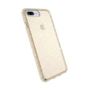 Speck Presido deksel til iPhone 8 Plus/7 Plus - klar/gull