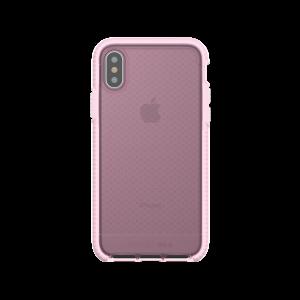 Tech21 Evo Check deksel til iPhone X - klar/rosa