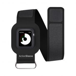Twelve South ActionSleeve armbånd til Apple Watch 42 mm slim - svart