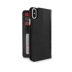 Twelve South BookBook lommeboketui til iPhone X - svart