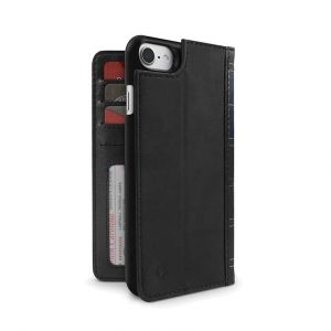 Twelve South BookBook lommeboketui til iPhone 8/7 - svart